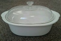 Corning Ware Rival 5.5 QT Oval Crock Pot Slow Cooker Insert/ Lid