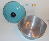 Club Aluminum Turquoise 4 Quart Stock Pot Dutch Oven w/ Lid USA