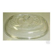 Corning Ware F-14 French White 2.5 or 4 qt/L Oval Glass Lid NEW