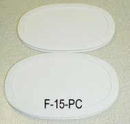 NEW Corning Ware French White F-15-B Oval Microwave Storage Lids