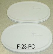 NEW Corning Ware French White F-23-B Oval Microwave Storage Lids