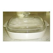Corning Ware MW-A-10 Microwave Browning Casserole Skillet w/ Lid