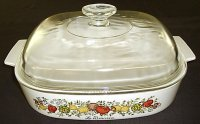 Corning Ware Spice O'Life A10B Skillet Casserole w/ Glass Lid XC