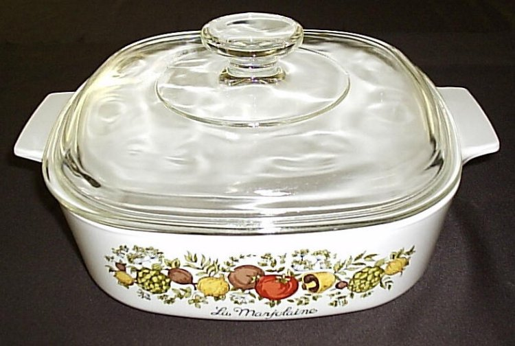 Corning Ware Spice O'Life A2B 2qt Casserole Skillet w/ Lid XCNM - Click Image to Close