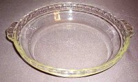 Vintage Pyrex 8 Deep Dish Clear Glass Pie Plate Dish 228 RARE XC