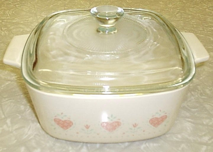 Corning Ware Forever Yours 1.5L Saucepan Casserole w/ NEW Lid NM - Click Image to Close