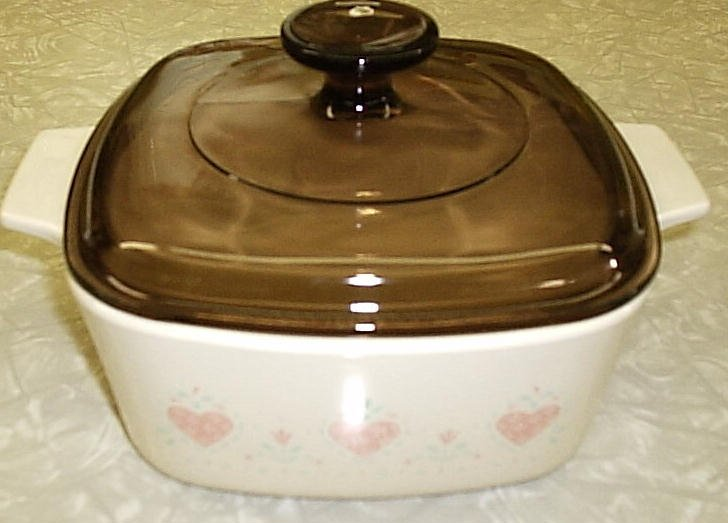 Corning Ware Forever Yours 1.5L Saucepan Casserole w/ORIG Lid NM - Click Image to Close