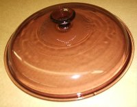 Corning Cranberry Visions 10 Skillet Fry Pan Fryer Lid Cover