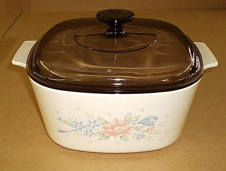 Corning Ware Symphony 3 Ltr Casserole Dutch Oven w/ Lid NM - Click Image to Close