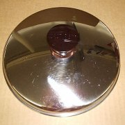 Vintage West Bend Stainless Steel 2 qt Saucepan Lid ONLY NM