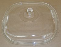 Vintage Corning Ware 8 Quart Aluminum COOKMATES Glass Lid ONLY