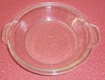 Vintage Pyrex Early Glass 6 in Casserole Pie Plate Utility Lid