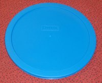 NEW Pyrex Mixing Bowl Plastic Rubber Storage Cover Lid 7402 TEAL