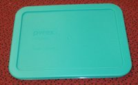 NEW Pyrex 7210 Dish Microwave Safe Storage Lid Cover GREEN