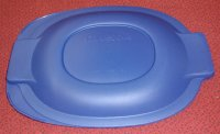 NEW Pyrex 702 Oval Casserole Microwave Safe Storage Cover BLUE
