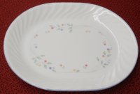 Corning Corelle English Meadow Oval Serving Platter NM