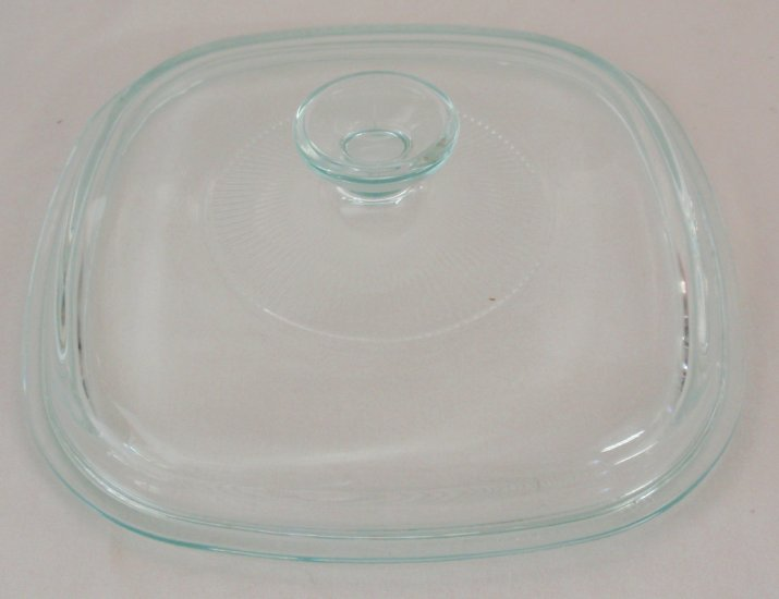 NEW Corning Ware Square Glass 2&3qt Casserole Lid Cover A9C - Click Image to Close