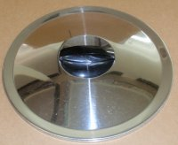 REFURBISHED Ekco Flint Stainless Steel 10.25 In Lipped Lid ONLY