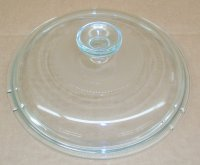 Corning Ware Pyrex Visions V-2.5-C Saucepan CLEAR Glass Lid NEW