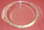 Vintage Pyrex Clear Glass 6 in Casserole Pie Plate Utility Lid