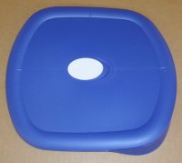 NEW Pyrex 8101 Vented Bowl Microwave Safe Storage Cover BLUE