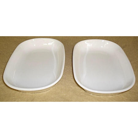 larger image  sc 1 st  Classic Kitchens And More & Corning Ware Frost White Sidekick Petite Pans Trays P-140-B 2pc ...