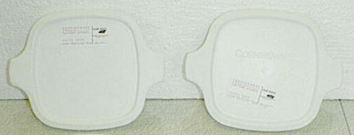 NEW Corning Ware Petite Pan Casserole Microwave Storage Lids 2pc - Click Image to Close