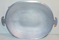 Guardian Service Aluminum Oval Serving Tray Roaster Cover 12 x 9